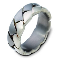 Item # A122751TG - Titanium and Gold Wedding Band.