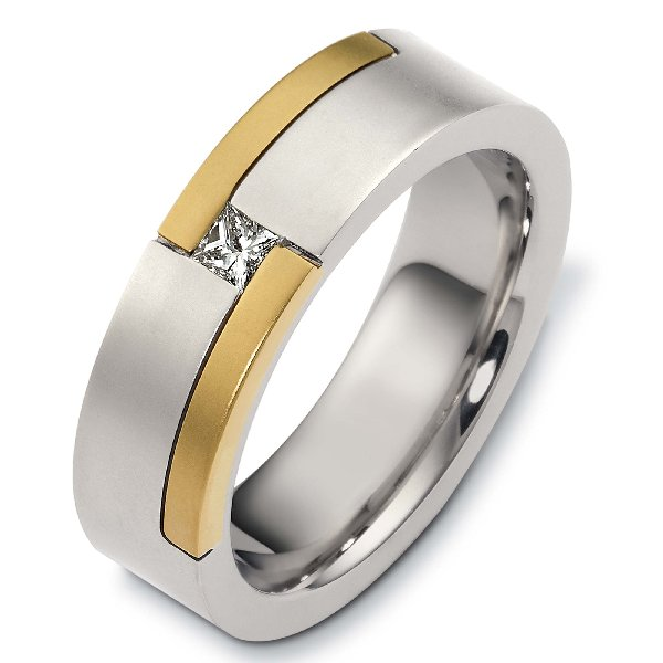 a124441 14k gold diamond wedding band