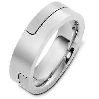 Item # A124731AG - Silver Wedding Band