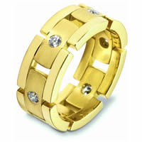 Item # A124931 - 14K Yellow Diamond Wedding Band