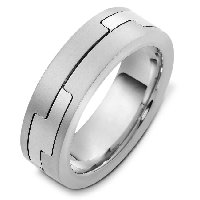 Item # A124961AG - 925 Silver Wedding Band