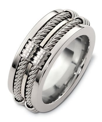 Sterling Silver , Wedding band