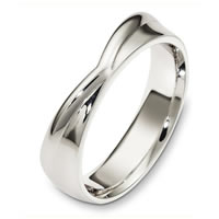 Item # A130271WE - 18 Kt White Gold Wedding Band