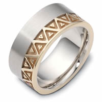 Item # B122301E - Clasic Carved Wedding Band