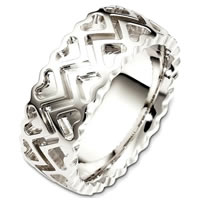 Item # B130361PD - Palladium Contemporary Wedding Band
