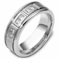 Item # C117861PP - Diamond Platinum Wedding Band.