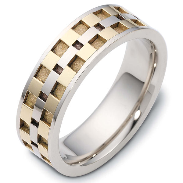 Item # C122291 - 14 Kt Two-Tone Wedding Band View-1