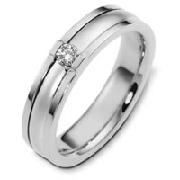 Item # C124481PP - Platinum Diamond Wedding Band