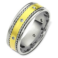 Diamon Wedding Band.