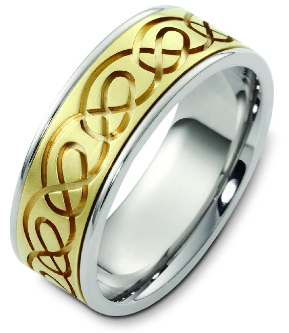 Celtic Weding Band