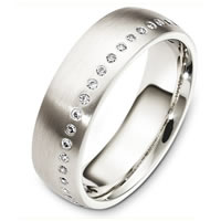 Item # C130741PP - Platinum Diamond Eternity Band