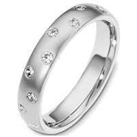 Item # C130981W - 14K Diamond Wedding Band