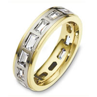 Diamond Eternity Band 18K Gold