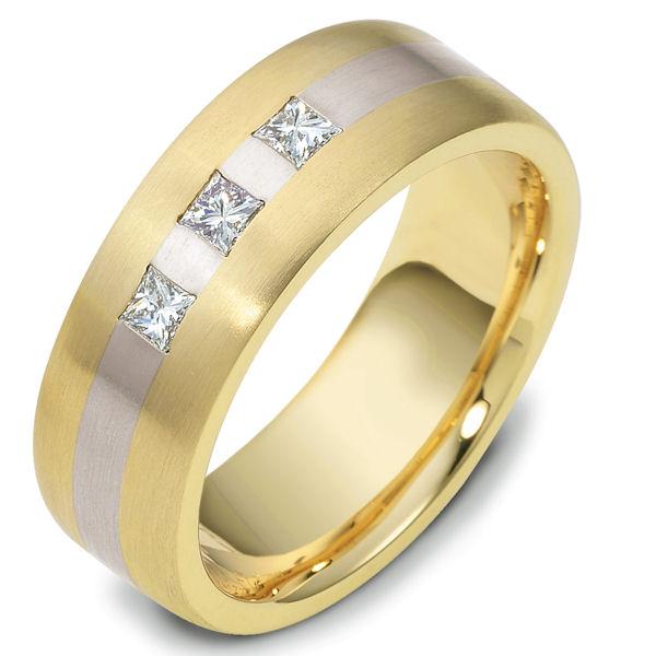 E117751PE Platinum And 18k Gold Diamond Ring