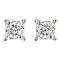 Item # E70502 - 14K Diamond Stud earrings