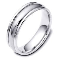 Classic Palladium Wedding Band
