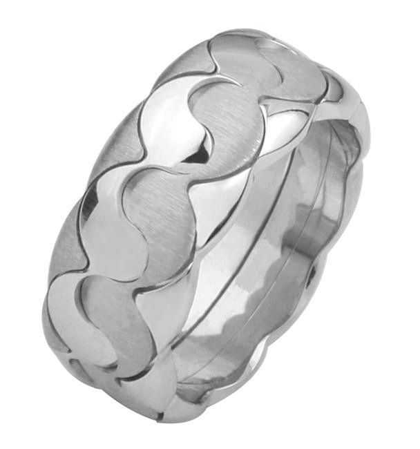Wedding Band, Yin - Yang