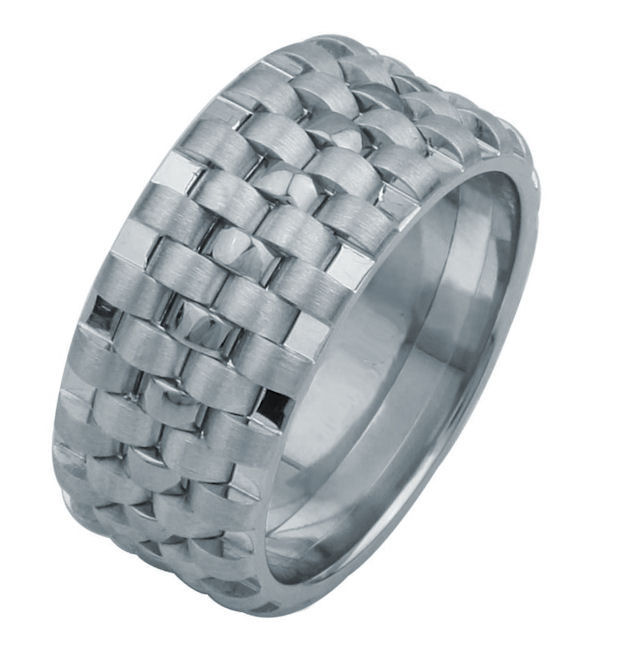 F3056012WE Wedding Band Tied Together Forever