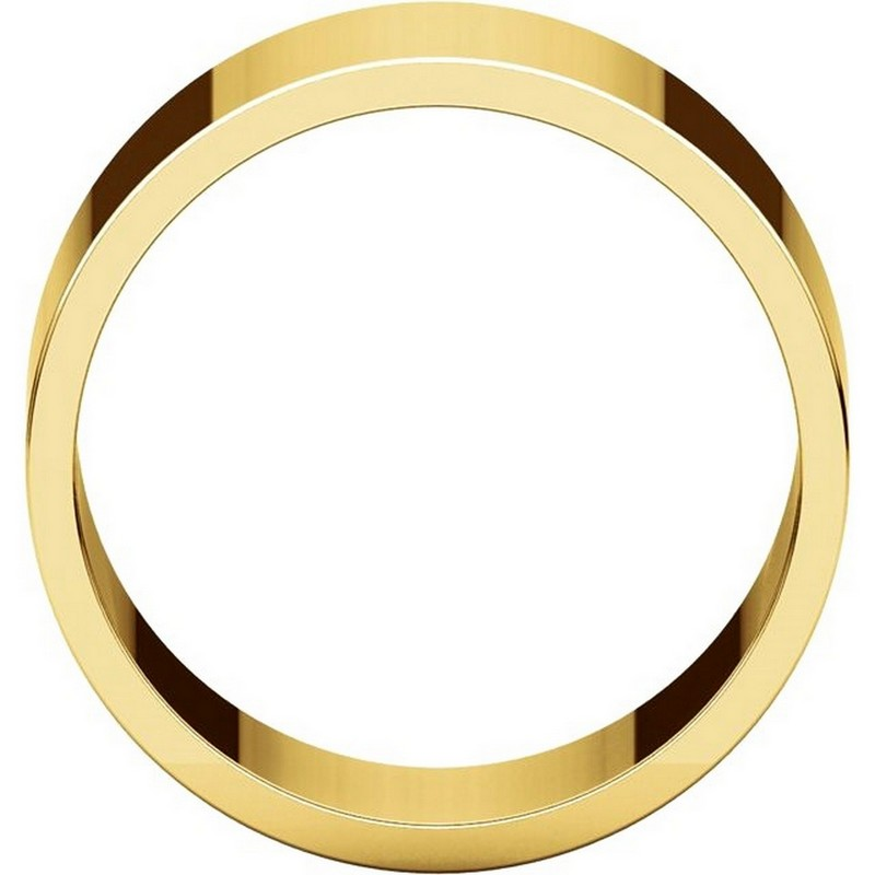 Item # F33661 - 14K Yellow Gold 10mm Wide Wedding Band View-2