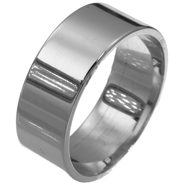 Item # F33661TI - Titanium 10mm Wedding Band. View-1