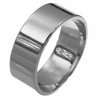 Item # F33661TI - Titanium 10mm Wedding Band.
