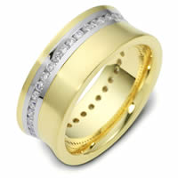 Item # N120191E - 18K Gold Diamond Eternity Band