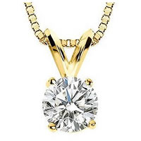 Item # P70251 - 1/4 ct Diamond 14K Pendant.