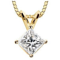 Item # P70502 - 1/2 ct Diamond 14K Pendant.