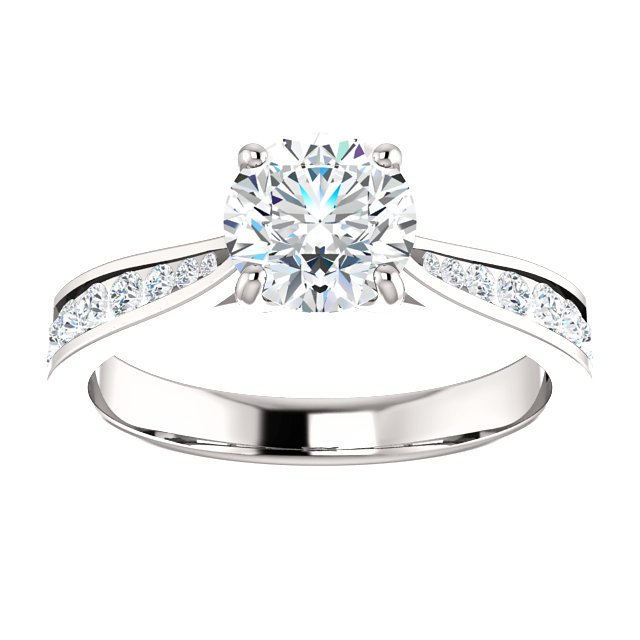 Item # S128692AW - Engagement Ring Timeless View-2