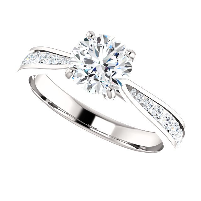 Item # S128692AW - Engagement Ring Timeless View-4