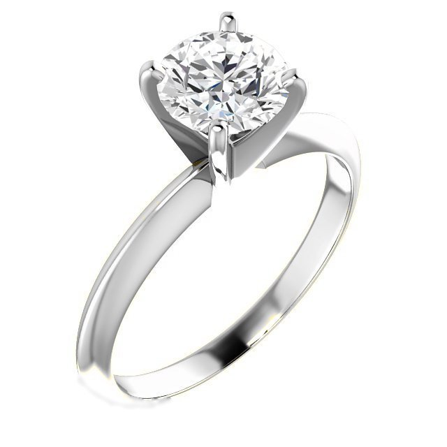 Solitaire Diamond Ring 1.0CT.