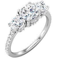 Item # S74582AWE - 2.0ct Diamond Engagement Ring