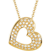 Item # S75631 - 14Kt Yellow Gold Heart Pendant