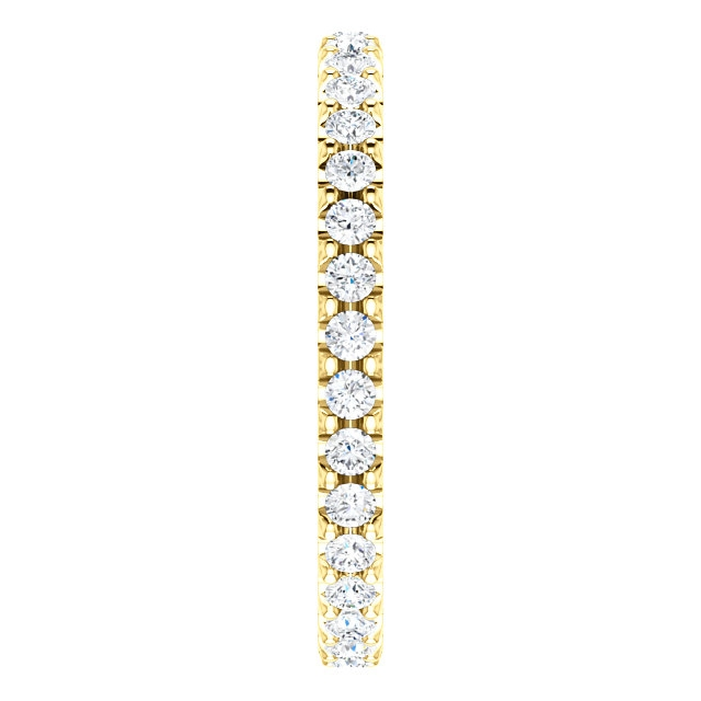 Item # SR127714050E - Eternity Band View-4