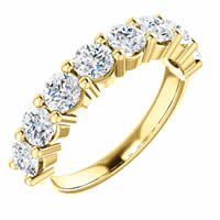 Item # SR128555150 - Gold Diamond Anniversary Band. 1.50CT