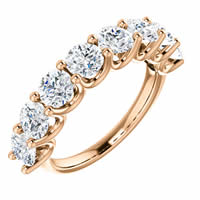 Item # SR128858250R - Eternal_love Rose Gold Anniversary Band. 2.50CT