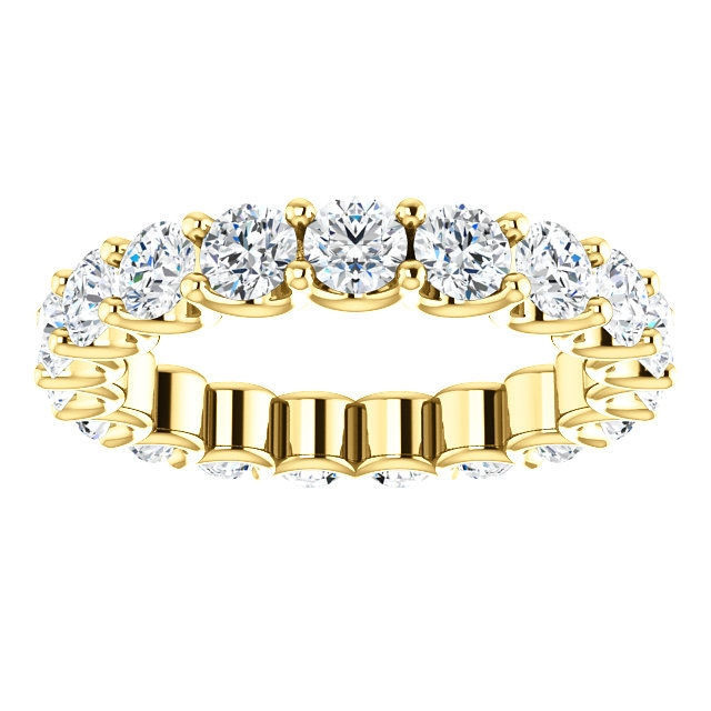 Item # SR128869290E - Eternal-Love Diamond Eternity Band. 2.90CT 18K Gold View-3