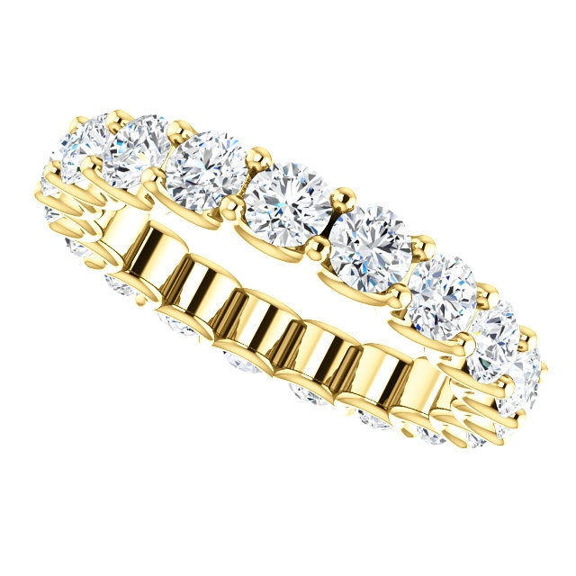 Item # SR128869290E - Eternal-Love Diamond Eternity Band. 2.90CT 18K Gold View-5