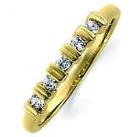 Item # ST11881 - 14K Gold Diamond Anniversary Band