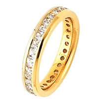 Item # ST126479E - Diamond Eternity Band 18K Gold