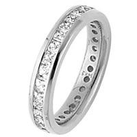 Diamond Eternity Band 14K Gold