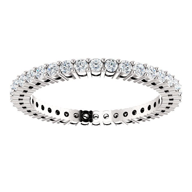 Item # SR128658050W - Eternity Band. View-3