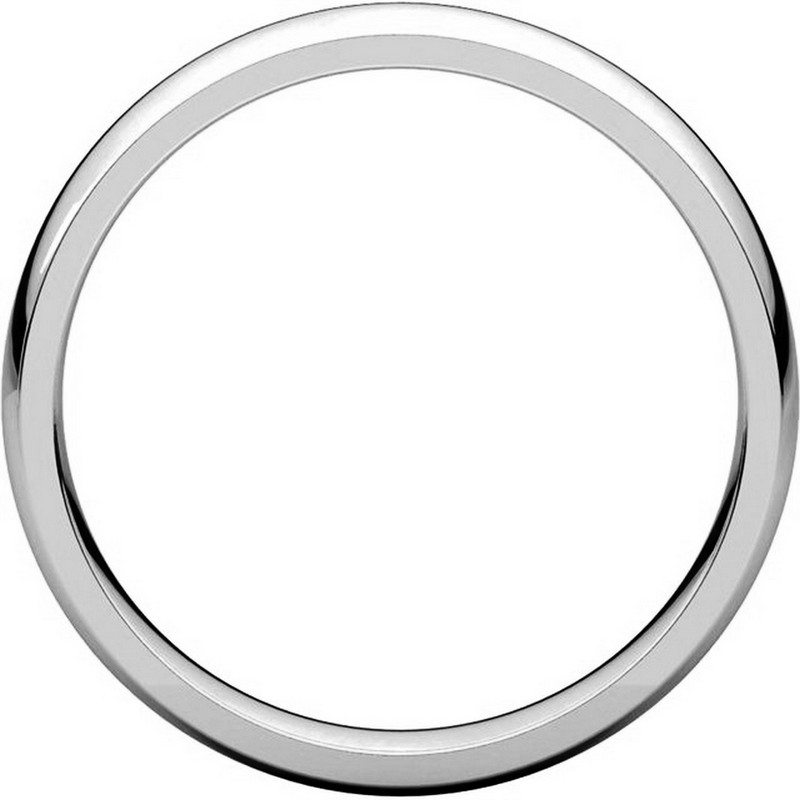 Item # V123801PD - Palladium Traditional Plain 4mm Comfort Fit Band View-2