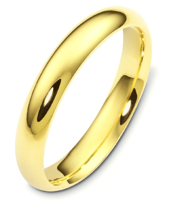 item vh123805g 22k yellow gold comfort fit plain wedding band
