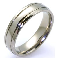 Item # WB7670TI - Titanium Wedding Band