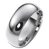 Item # X123831TI - Titanium 8mm Comfort Fit Wedding Band