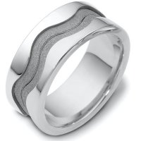 Item # A122071AG - Silver 925 Wedding Band