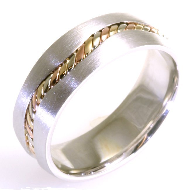 Item # A122261 View 2 - 14 kt Handcrafted Wedding Ring