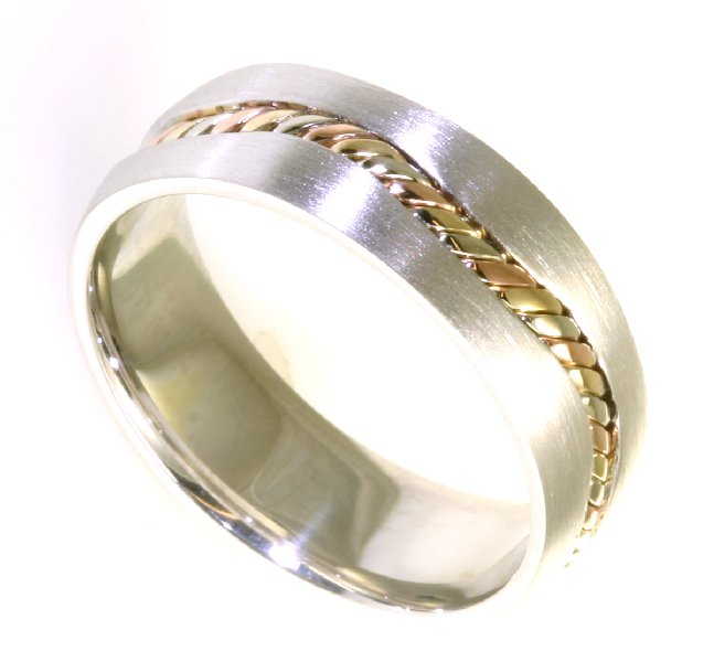 Item # A122261 View 4 - 14 kt Handcrafted Wedding Ring