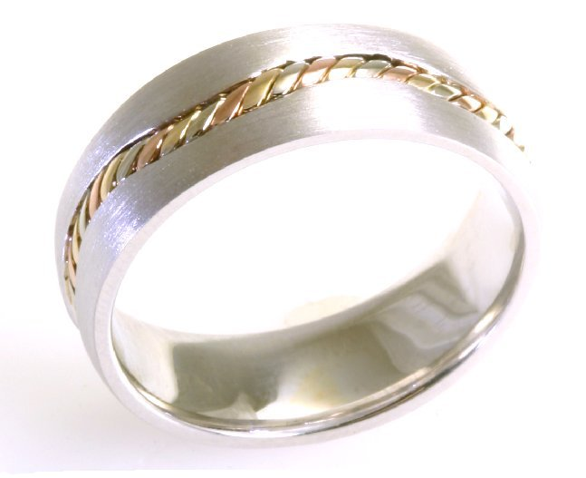 Item # A122261 View 5 - 14 kt Handcrafted Wedding Ring